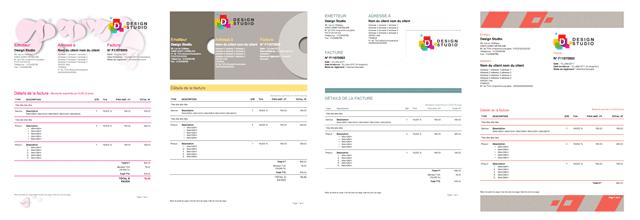 Nouveaux modèles de documents iScriba