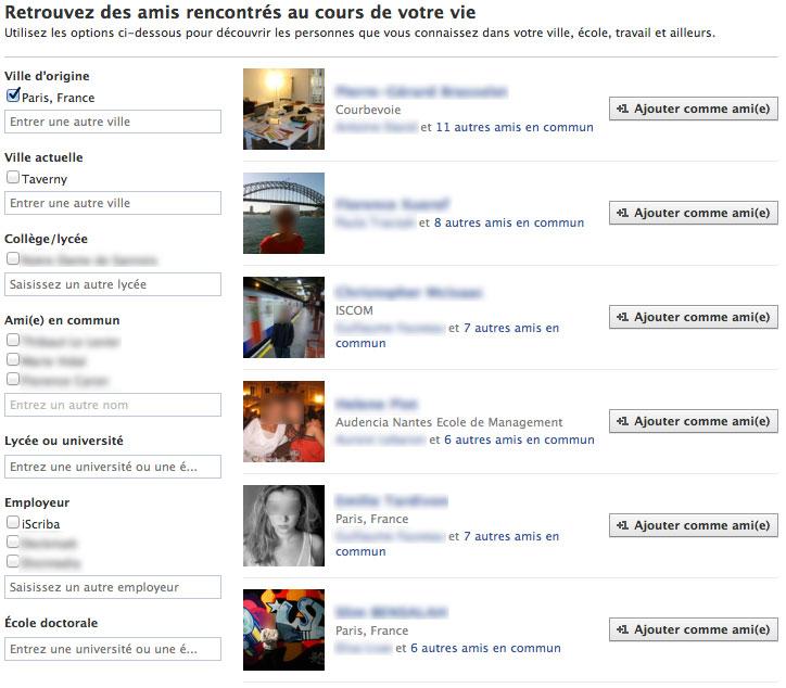 facebook retrouvez des amis