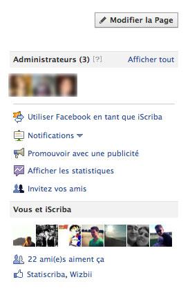 facebook utiliser comme page