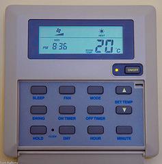 thermostat d'intérieur